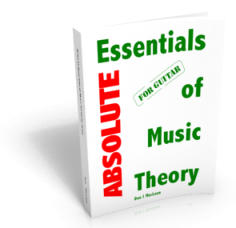 Absolute Essentials of Music Theory for Guitar Soft Cover