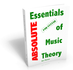 Absolute Essentials of Music Theory for Guitar PDF eBook Edition